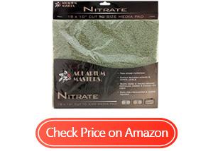 aquarium nitrate remover pad