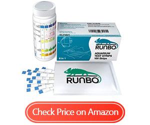 runbo aquarium test strips