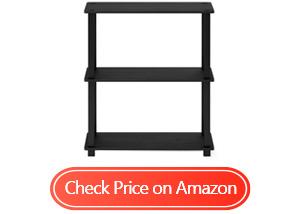 furinno turn-s-tube shelf display rack